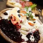 ロゥ カフェ - フルーツパムケーキ(アフタ