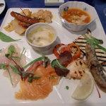 レストラン ラ・フェット - 前菜のプレート