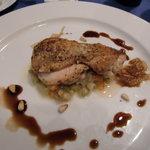 レストラン ラ・フェット - 地鶏のポアレ・バルサミコソース