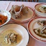 綺羅々亭 - 日高沿岸でしか取れない大ぶりの真つぶ料理