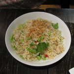 上海モダン - 枝豆とホタテのチャーハン