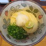 さぬきうどん こも庵 - 生醤油うどん 570円