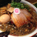 ippuudoushiromarube-su - 中洲ブラック¥790、海苔+ネギ¥100、煮玉子¥100