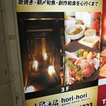堀 堀~hori hori~ - 2016/11/1  壁にも〜〜