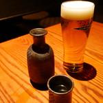 堀 堀~hori hori~ - 2016/11/1  一ノ蔵とエクストラコールドビール