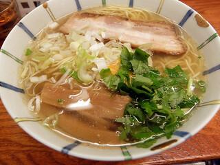 麺屋ひょっとこ - 和風柚子柳麺