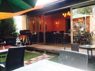リラクゼーションカフェシャンドゥルール - お庭も店内も素敵♡