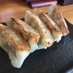 博多ラーメンひなた - 黒豚餃子!