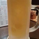 居酒屋やましょう - ドリンク写真:生ビールは黒ラベル550円
