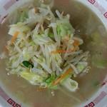 日高屋 - 野菜たっぷりタンメン(麺少なめ)2016.11.2