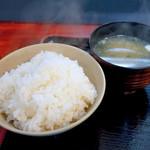 58366168 - ご飯と味噌汁
