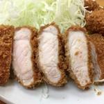 山家 - ロースカツ定食750円