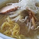眞麺 穂高 - 塩 大盛