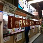 Nishiguchiudon - 店舗外観。