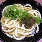 Nishiguchiudon - 「昆布うどん」(290円)。