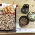 58375885 - 天もり(950円)+くるみ汁(100円)【平成28年11月3日撮影】