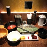 58376263 - 特別キムカツランチ膳980円、完食♪