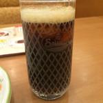 サイゼリヤ - 炭酸水とコカコーラのGEORGIAのミックス。 セットドリンクバーは、税込190円。 うまし。