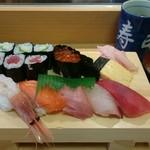 扇寿司 - 竹にぎり 1,480円(税別)