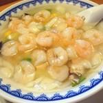 康楽 - 料理写真:海老そば(500円) ※麺パスポート使用