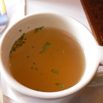 コーヒーハウス 三番館 - セットメニューのカップスープです