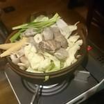 58381823 - あさりと具沢山野菜の塩バター鍋