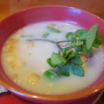 仙人小屋 - 熊の手のひらスープ1,000円也