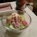 アマンド  - セットのサラダ