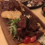 銀ノ板 - お肉(ロースとたん)