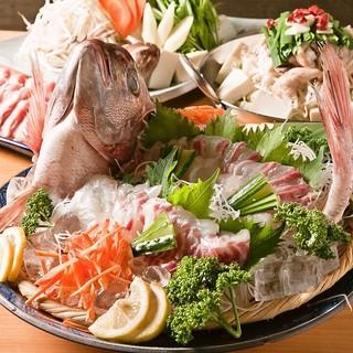 鮮魚をはじめ食材の鮮度にこだわり♪