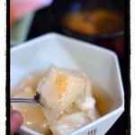 お食事処 もとだき - 揚げ出し豆腐