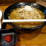 麺匠 玄龍 - 味噌ラーメン800円