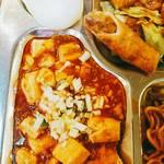 田舎菜館 - 麻婆豆腐、春巻、蒸し饅頭etc……