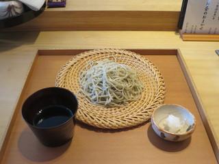 割烹・蕎麦 波と風 - ざる
