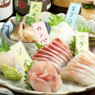 伊豆下田釣り船直営店「鮮魚家」鮮魚と日本酒の隠れ家居酒屋!!