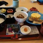 和食レストラン 神着 - 朝食はセットで
