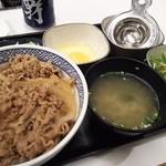 吉野家 - 牛ねぎ玉丼並+Bセット