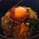 韓国食彩 オモニ - 料理写真:石焼ビビンバ