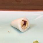 鮨勝 - 煮烏賊の印籠