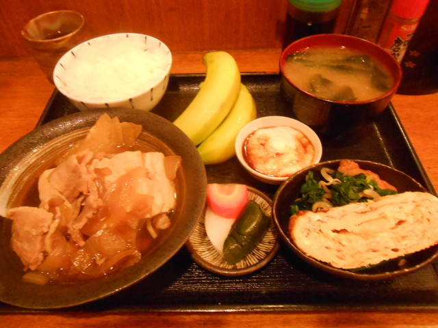 木むら - 肉豆腐定食 750円