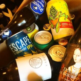 国内外の個性豊かなクラフトビールをお楽しみください!!