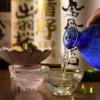 全国各地の日本酒を多数ご用意!!