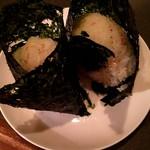 韓国家庭料理 アンニョン - ゴマおにぎり