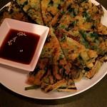 韓国家庭料理 アンニョン - ニラチヂミ