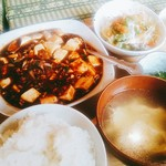 成田家雅殿 - 麻婆豆腐定食