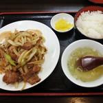 アベノ珉珉 - ジンギスカン定食720円
