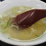 アベノ珉珉 - スープ