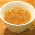 58400924 - ランチセット 1080円 の冬瓜とベーコンのスープ