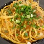 Pasta e Vino Kei - 牡蠣と九条ネギの自家製ロザマリーナのアラビアータ/(2016年11月)