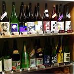 吟醸マグロ - 本日の日本酒飲み放題ラインナップ